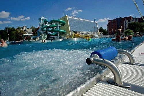 Vodní svět Ostrava venkovní koupaliště a krytý bazén