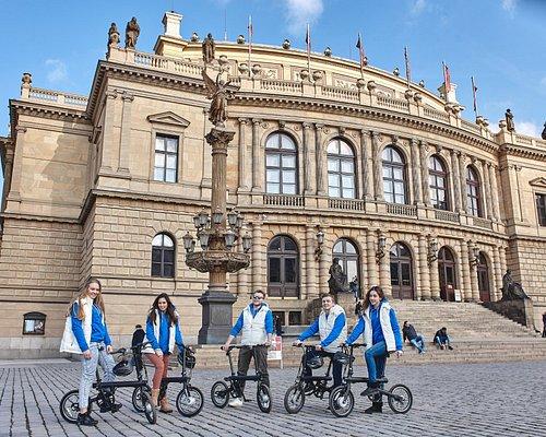 Explore Prague history with e-bikes