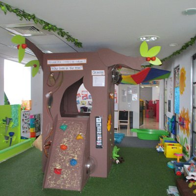 special babies and toddlers sensory area