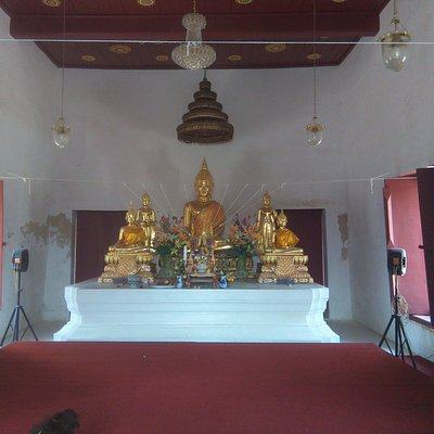inside of old temple