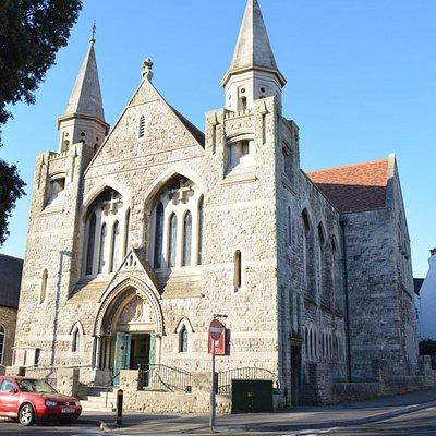 Easton Methodist Church on Easton Square