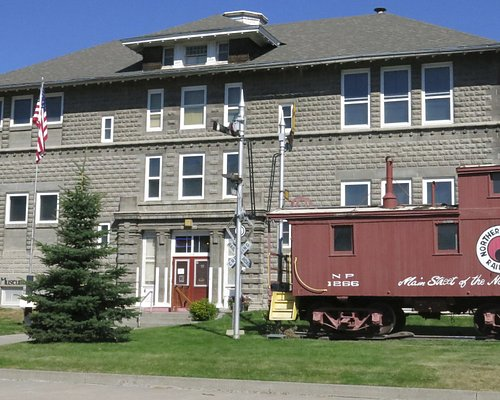 118 W. Chinook St., front of the museum. In summer, outdoor exhibits are open, including the cab
