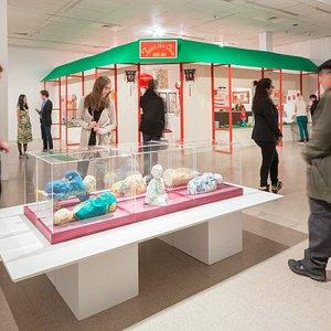 Exposition SHEEN-WAH-ZREE de Karen Tam au MACL. Crédits photo : Lucien Lisabelle