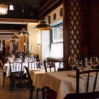 Belgrade rustic restaurant near Nikola Tesla museum