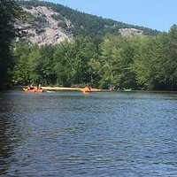 Kayaking on the Saco River