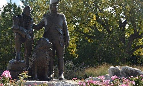Lewis & Clark Statue in Frointier Park