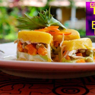 Recetas saludables y deliciosas de la gastronomía Peruana, cocine con nosotros - Foto: Causa rel