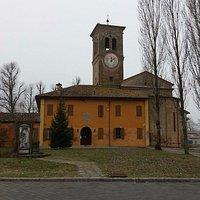 Retro della chiesa