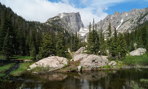 View from Dream Lake