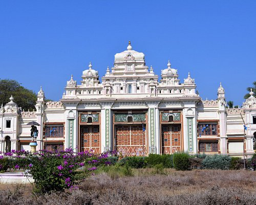 Outside view of the palace