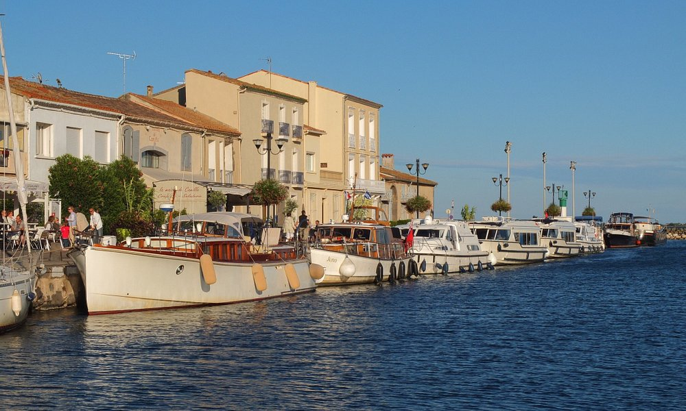 "Marseillan  "" the french port that's like Saint-Tropez before Bardot "" The Guardian"