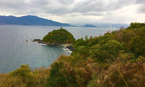 国民宿舎大城 瀬戸内海の島々 景色