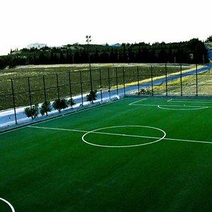 Outdoor FIFA certified football field at 6 Yard