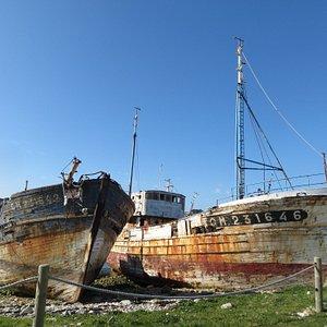 Le cimetière de bateaux