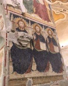 la Trinità nell'iconografia antica, ex Chiesa della Maddalena