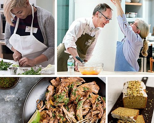 Hands-on cooking classes, special events, and the New Home Cooking