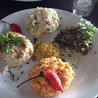 Quatuor de risotto délicieux