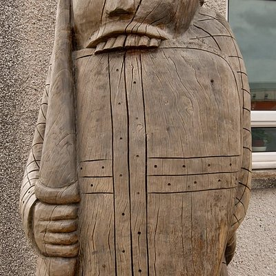 Look out for the giant berserker outside of the Museum