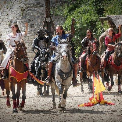spectacle équestre médiéval fantastique