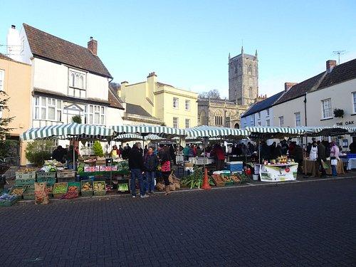 Axbridge Medieval Square