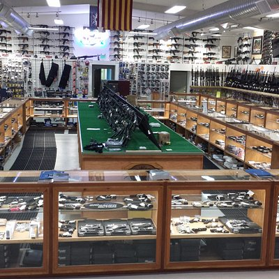 Largest selection of firearms on display in the state
