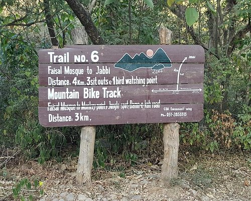 Trail 6 - Good sign posting throughout