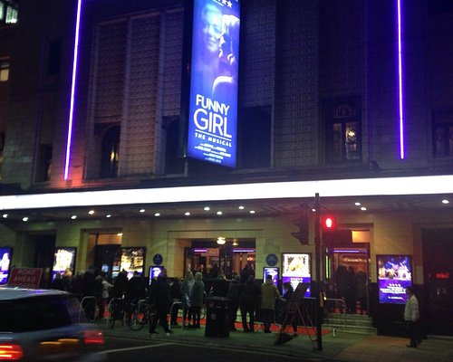 Crowds gather at 'Press Night' for 'FUNNY GIRL' (Red Carpet) 22/02/17.