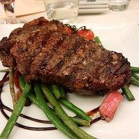 Bistecca con verdure