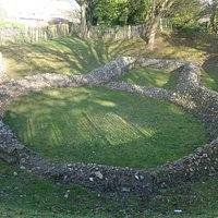 Good view of the remains of the Knights Templar Church