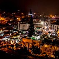 Da Lat night Market view from Tulip hotel 2