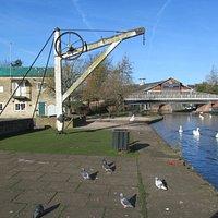 Newbury Wharf crane