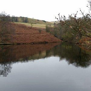Small water tank near Fernilee Reservoir