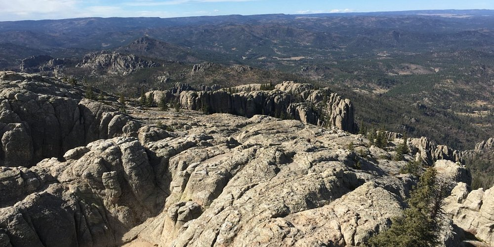 View from Harney Peak