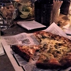 Margaritas and pizza...