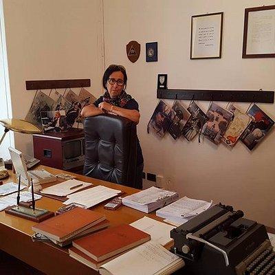 L'ufficio di Giovanni Falcone