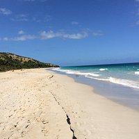 "Zoni Beach, ""lilla syster"" till Flamenco Beach, Culebra. Mycket lugnare men inte mindre vacker."
