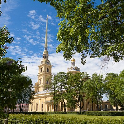 The Peter an d Paul Cathedral (St Petersburg, Russia)