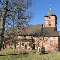 Katholische Kirche Weilerbach (Blick von Süden)
