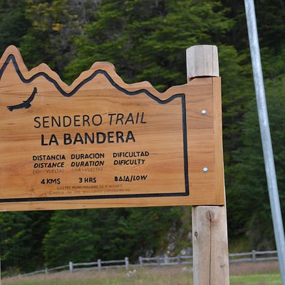 SEndero Trail La Bandera Starting point