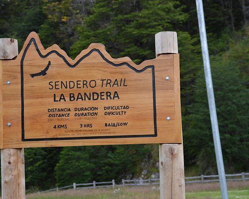 SEndero Trail La Bandera Starting point