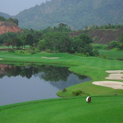 10th hole Red Mountain. Hands down the best course in Thailand