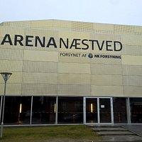 Indgangen til Arena Næstved