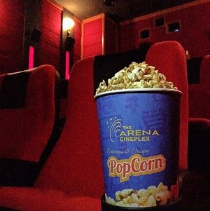 One does not simply watch a movie without popcorn