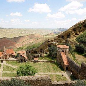 Davidgareja's monastic complex. Enjoy your trip with geosights.ge