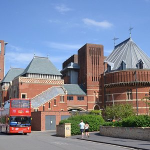 The trail takes you past the Royal Shakespeare Company (RSC)