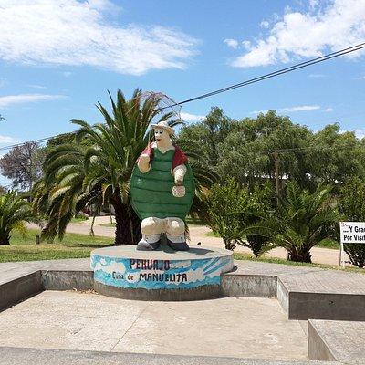 Estatua a la Tortuga Manuelita