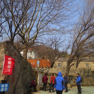 風景区の入口