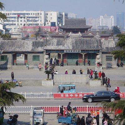 淮鎮楼からの眺望