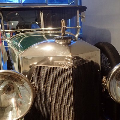 A 95-year old Austrodaimler - with an MOT that expired in February 2017