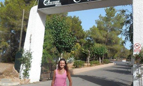 Benimussa Park Entrance